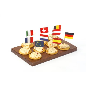 """Partypicker, Flaggen 8 cm """"Nationen"""" - Bild 2"""