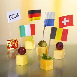 "Partypicker, Flaggen 8 cm ""Schweiz"" - Bild 2"