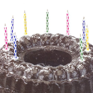 Magische Kerzen mit Halter 6 cm farbig sortiert - Bild 2
