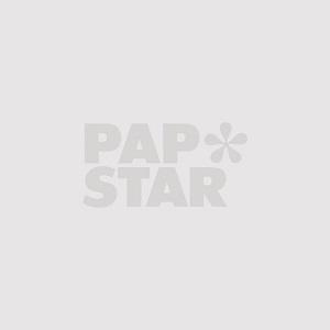 Mokkadeckchen oval 22 cm x 15 cm weiss - Bild 1
