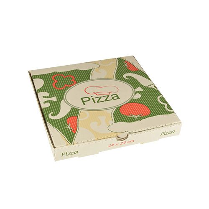 "Pizzakartons, Cellulose ""pure"" eckig 24 x 24 x 3 cm - Bild 1"