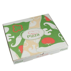 "Pizzakartons, Cellulose ""pure"" eckig 33 x 33 x 3 cm - Bild 1"