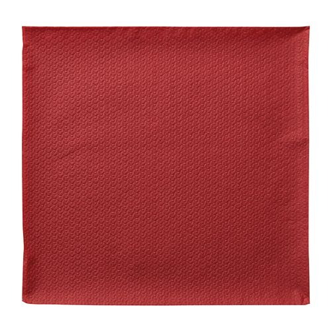 Servietten, rot 1-lagig 1/4-Falz 33 x 33 cm - Bild 2